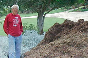 Happy Mulch Customer